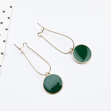 女性用 ドロップイヤリング  -  ファッション グリーン 用途 日常 カジュアル