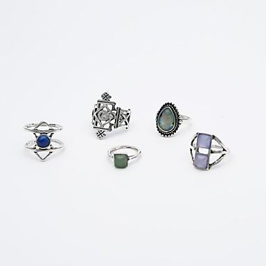 Pentru femei Cristal Ștras Personalizat Vintage Cristal Aliaj Pătrat neregulat Bijuterii Zilnic Casual