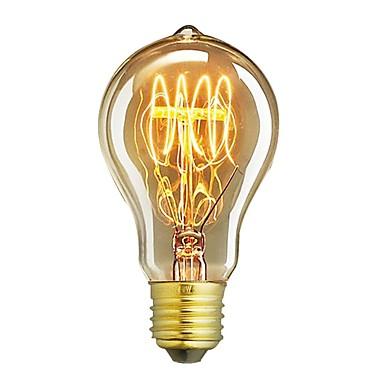 1 buc 60W E26/E27 A60(A19) 2300 K Incandescent Vintage Edison bec 220V-240V V