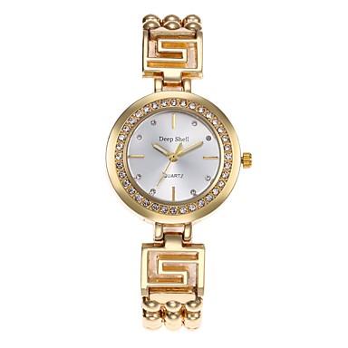 Pentru femei Ceasuri Pave Unic Creative ceas Ceas La Modă Chineză Quartz cald Vânzare Aliaj Bandă Casual Argint Auriu