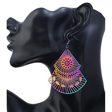 Pentru femei Cercei Picătură Bijuterii Vintage Modă Teak Geometric Shape Bijuterii Casual Ieșire Costum de bijuterii