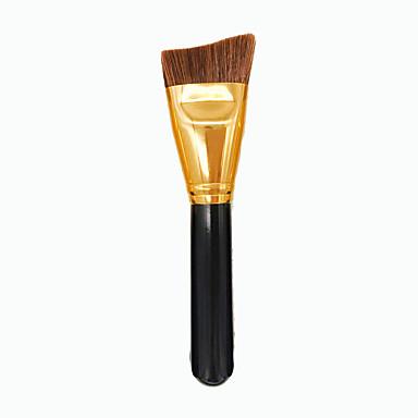 1 Contour Brush Pędzelek do podkładu Włosie synetyczne Przenośny/a Ekologiczne Profesjonalny/a Drewno Twarz Bronzer Zakreślacz Podkład