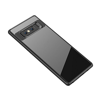 voordelige Galaxy Note-serie hoesjes / covers-hoesje Voor Samsung Galaxy Note 8 Transparant Achterkant Transparant Zacht TPU