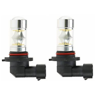 voordelige Automistlampen-2pcs 9005 Automatisch Lampen 100W SMD 5050 3000lm LED-Lampen Mistlamp