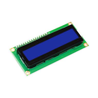 keyestudio 16x2 1602 i2c / twi módulo de exibição lcd para arduino uno r3 mega 2560 branco em azul