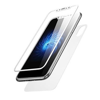 2b1a1af4167 Protector de pantalla para Apple iPhone X Vidrio Templado 2 pcs Protector  de Pantalla Posterior y