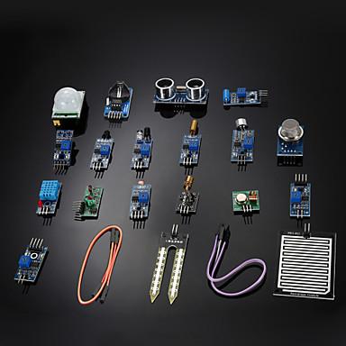 kit de module de capteur diy 16 in 1 pour framboise pi