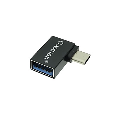 Cwxuan USB 3.1 Type C Adapter, USB 3.1 Type C to USB 3.0 Adapter Male - Female 5.0 Gbps