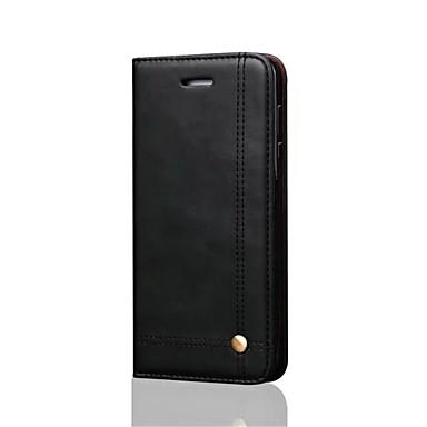 voordelige Huawei Mate hoesjes / covers-hoesje Voor Huawei Mate 10 / Mate 10 pro / Huawei Portemonnee / Kaarthouder / met standaard Volledig hoesje Effen Hard PU-nahka