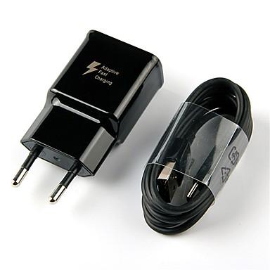 Chargeur Portable Chargeur USB Prise UE Kit de Chargeur 1 Port USB 2 A pour