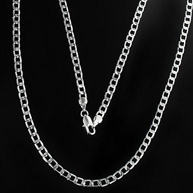 billige Mode Halskæde-Herre Kædehalskæde Billig Sølv Halskæder Smykker Til Julegaver Daglig