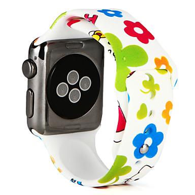 ieftine Până la 4,99 USD-Uita-Band pentru Apple Watch Series 5/4/3/2/1 Apple Banderola Sport Silicon Curea de Încheietură