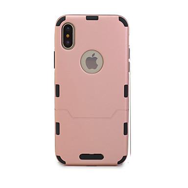 Недорогие Обжигающая экономия-Кейс для Назначение Apple iPhone X / iPhone 8 Ультратонкий Чехол Однотонный Твердый ТПУ для iPhone X / iPhone 8 Pluss / iPhone 8