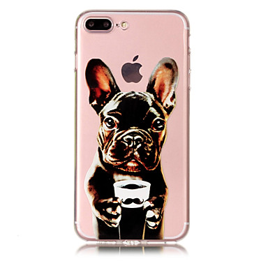 disegno Plus iPhone Per retro Apple X iPhone 8 8 TPU iPhone Custodia Per Con Fantasia iPhone iPhone 06349062 cagnolino Transparente 8 Plus per X Morbido n1PIqvz