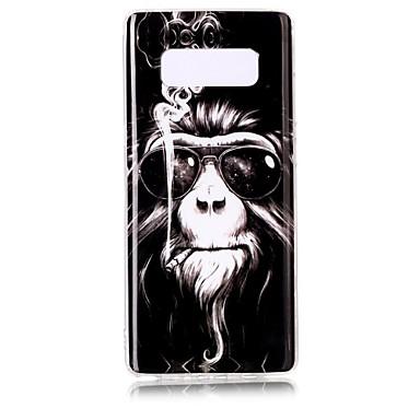 케이스 제품 Samsung Galaxy Note 8 패턴 뒷면 커버 동물 소프트 TPU 용 Note 8 Note 5 Edge Note 5 Note 4 Note 3 Lite Note 3 Note 2 Note Edge Note