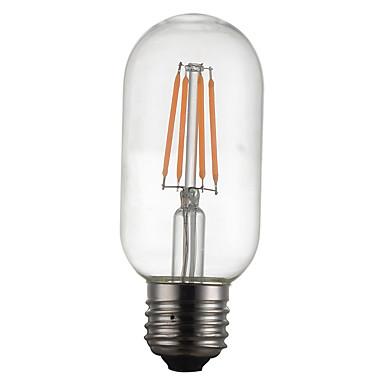 1szt 4W 400 lm E26/E27 Żarówka dekoracyjna LED G45 4 Diody lED COB Dekoracyjna Ciepła biel 220-240 V