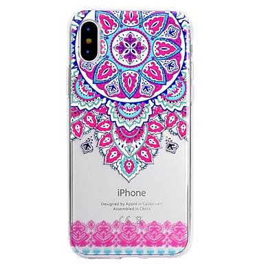 per 06442151 disegno Apple in iPhone Plus Morbido 8 Fantasia iPhone stampa X 8 iPhone pizzo iPhone iPhone Plus Custodia La X Per retro 8 Per TPU 4Oq84wT