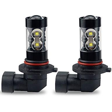 cheap Car Headlights-2pcs Light Bulbs 50W High Performance LED 10 Headlamp For Toyota Corolla 2016 / 2015 / 2014
