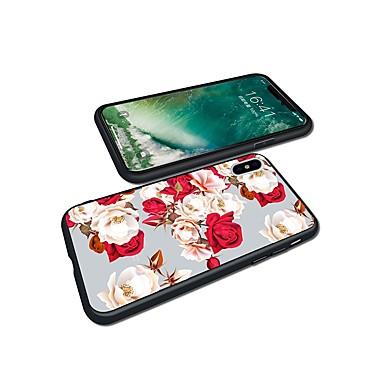 8 Custodia 8 TPU iPhone Per Plus iPhone iPhone iPhone Fiore X per Plus iPhone 06446793 decorativo X Fantasia 8 Morbido disegno retro Apple Per rEBr6wCxq