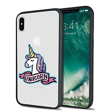 Custodia iPhone 8 per retro iPhone X TPU Plus disegno Unicorno iPhone Per Plus Morbido Per 06455012 animati Cartoni 8 X Apple iPhone Fantasia rxFqcarXIW