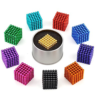 216 pcs 3mm Magnet Toy Magnetic Blocks Magnetic Balls Building Blocks Classic Style Stress and Anxiety Relief Focus Toy Office Desk Toys Ball Kid's / Adults' Boys' Girls' Toy Gift / Neodymium Magnet