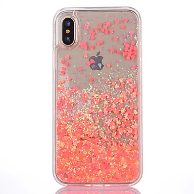 iPhone iPhone Plus retro iPhone Glitterato 8 iPhone Per Custodia Apple Resistente X 8 Liquido per iPhone a X Per 8 Plus Transparente 04725083 cascata 8 iPhone Silicone w6xHxqIn8