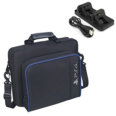 olcso Videojáték tartozékok-Táskák Kompatibilitás PS4 Slim / PS4 Prop ,  Hátizsákok Táskák Műanyag 1 pcs egység