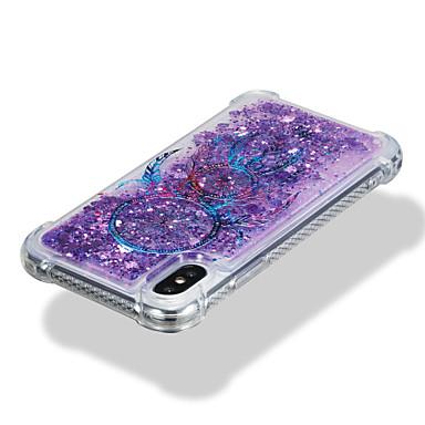 Custodia Liquido a 06509442 iPhone sogni Plus X cascata retro Fantasia 8 Cacciatore Per Per Glitterato TPU Apple iPhone per Morbido di disegno AxWrw1qA08