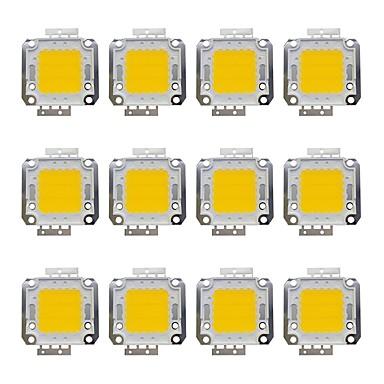 billige LED-tilbehør-12pcs 1600 lm Bulb tilbehør Messing LED Chip 20 W
