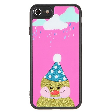 Resistente iPhone 6 da Per Fai Fantasia 06479698 disegno Glitterato Cartoni Animali Custodia per Per iPhone 7 7 iPhone animati retro Apple te PC xFwqztRAT