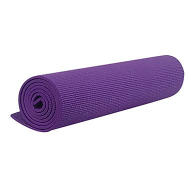 çevre dostu tpe ekstra kalın kayma dirençli yoga pilates mat (6mm)