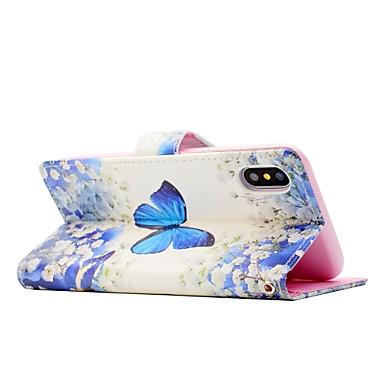 X Porta A Plus calamita di magnetica Custodia iPhone Apple Per Integrale 06511590 credito Con 8 iPhone Con carte supporto A chiusura portafoglio Pwpntn