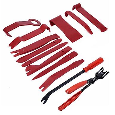 voordelige Reparatiegereedschap-ziqiao 13 stks plastic auto auto deur interieurbekleding verwijdering panel clip koevoet open bar tool kit hoge kwaliteit handgereedschap