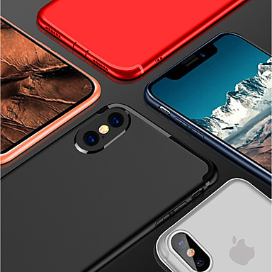Tinta iPhone Morbido Custodia ghiaccio Effetto 06479251 8 retro Per 8 X Plus per iPhone iPhone Plus 7 Per 7 unica iPhone iPhone Apple 8 TPU iPhone Zx7AFvqZ