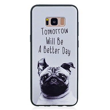 Etui Til Samsung Galaxy S8 Plus / S8 Mønster Bagcover Hund Blødt TPU for S8 Plus / S8 / S7 edge