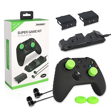 tanie Xbox 360:Akcesoria-Bezprzewodowy Ładowarka / Baterie Na Xbox 360 , Wentylator Ładowarka / Baterie ABS 1 pcs jednostka