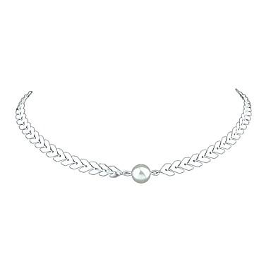 Γυναικεία Κολιέ Τσόκερ Καρδιά Βασικό Μοντέρνα Χρυσό Ασημί Κολιέ Κοσμήματα  Για Καθημερινά Πρωτοχρονιά 8aad306e8dc
