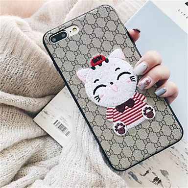 per Tessile Plus 06594025 iPhone iPhone Morbido Per Fantasia iPhone 8 Cartoni Apple iPhone Per X iPhone 8 7 X Custodia animati retro disegno Plus qZ6RFwfg