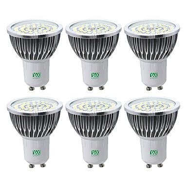 YWXLIGHT® 6pcs 7 W 600-700 lm GU10 Focos LED 48 Cuentas LED SMD 2835 Blanco Cálido Blanco Fresco Blanco Natural
