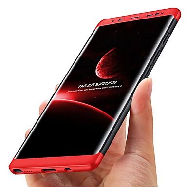 Недорогие Чехлы и кейсы для Galaxy S6-Кейс для Назначение SSamsung Galaxy S8 Plus / S8 / S7 edge Защита от удара / Ультратонкий Чехол Однотонный Твердый пластик