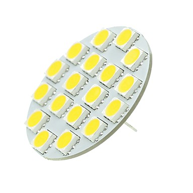 SENCART 1pc 5 W LED à Double Broches 540 lm G4 T 18 Perles LED SMD 5730 Décorative Blanc Chaud Blanc Froid 12-24 V