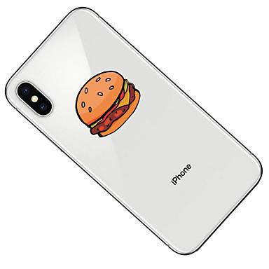 iPhone per iPhone Fantasia Custodia Transparente 8 06580268 TPU Per iPhone iPhone X retro 8 iPhone Plus disegno Alimenti Per Morbido Apple 8 X ATZw6qCA