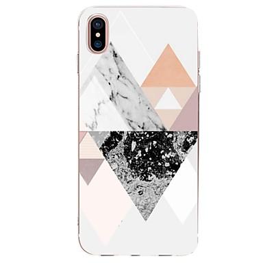 Per iPhone X X 8 Effetto Morbido Custodia disegno TPU Ultra iPhone Fantasia 8 iPhone iPhone Apple per 06558023 marmo retro Per sottile Geometrica dxqwxHI