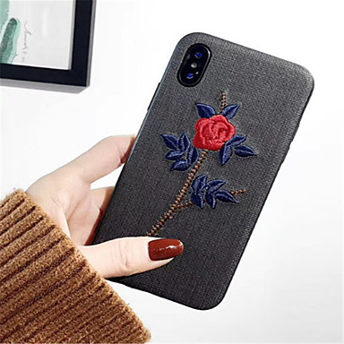 retro decorativo disegno Fiore Apple iPhone 06594651 X 8 per 8 iPhone TPU Morbido Per iPhone Custodia X Plus iPhone Per Fantasia iPhone Plus 7 P8vwqn7x