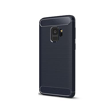 voordelige Galaxy S-serie hoesjes / covers-hoesje Voor Samsung Galaxy S9 Ultradun Achterkant Effen Kleur Zacht Siliconen