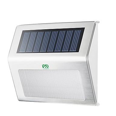 economico Applique per esterni-YWXLIGHT® 1pc 2 W Luci LED ad energia solare Impermeabile / Decorativo Bianco caldo / Luce fredda 3.7 V Luci per esterni 2 Perline LED