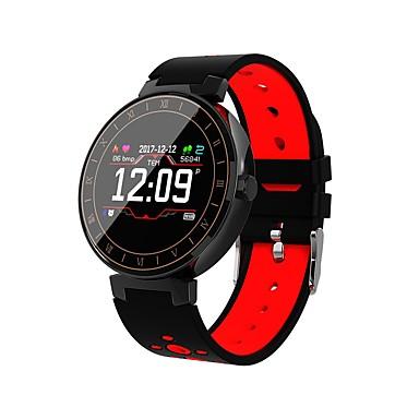 זול שעונים חכמים-חכמים שעונים ל Android 4.4 / iOS מוניטור קצב לב / כלוריות שנשרפו / מזכיר הודעות / שליטה במצלמה / בקרת APP מד צעדים / מזכיר שיחות / מעקב שינה / תזכורת בישיבה / מצאו את המכשירשלי / Alarm Clock