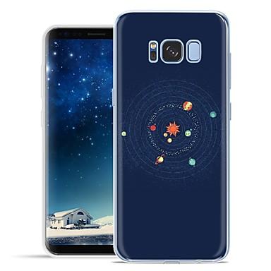 halpa Galaxy S6 kotelot / kuoret-Etui Käyttötarkoitus Samsung Galaxy S8 Plus / S8 / S7 edge Kuvio Takakuori Piirretty Pehmeä TPU