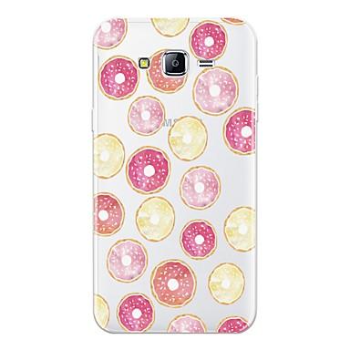 voordelige Galaxy J-serie hoesjes / covers-hoesje Voor Samsung Galaxy J7 (2016) / J7 / J5 (2016) Patroon Achterkant Fruit Zacht TPU