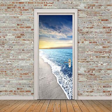 halpa Seinä Art-Asetelma Laiva Wall Tarrat Lentokone-seinätarrat 3D-seinätarrat Koriste-seinätarrat Valokuvatarrat Lattia-tarrat Ovi-tarrat, Vinyyli